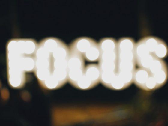 Focus text