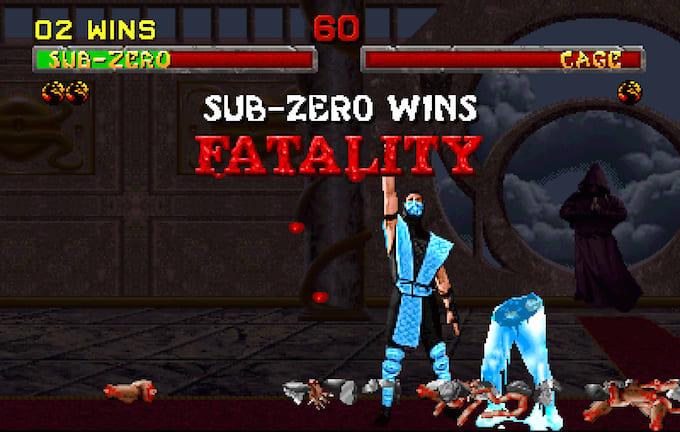 Mortal Kombat Sub-Zero fatality